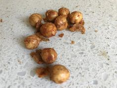 Chickpeas are a good source of energy and nutrition. Spicy and crunchy kurkure tastes wonderful as a sn. Crunchy Chickpeas, Spicy, Stuffed Mushrooms, Nutrition, Vegetables, Cooking, Food, Stuff Mushrooms, Kitchen