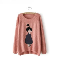 Women's Pullovers, single color cashmere warm sweater