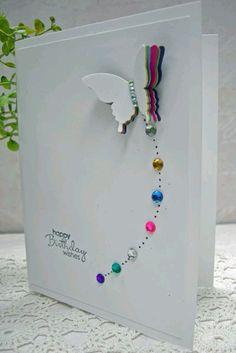 Card farfalla
