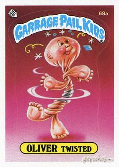 GARBAGE PAIL KIDS - Original Series 2 CardCollection - Oliver Twisted
