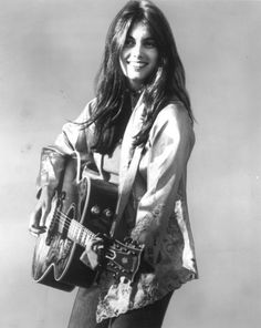 Emmylou Harris. So beautiful and inspiring- I first heard her singing with Linda Ronstadt & the harmonies were breathtaking!
