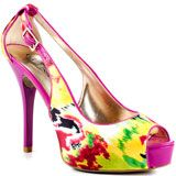 Guess's Multi-Color Hondola - Yellow Multi Satin for 94.99 direct from heels.com
