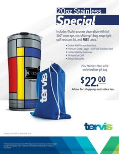 Check out all of our cool Tervis Tumbler Products