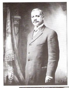 John Paul Scott  Educator - First Black School Principle and Past Grand Master of Prince Hall Masons of Pennsylvania (1914)