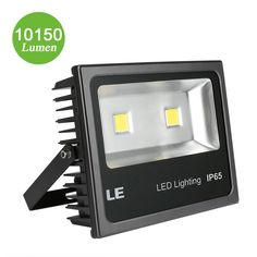 100 Watt Led Light Bulb Equivalent – Home Lighting Ideas Backyard Solar Lights, Outdoor Security Lights, Led Flood Lights, Packing Light, Home Lighting, Lighting Ideas, Home Automation, Bright, 5 Years