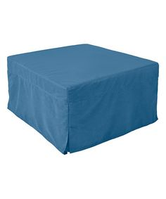 Another great find on #zulily! Blue Magical Ottoman Sleeper #zulilyfinds