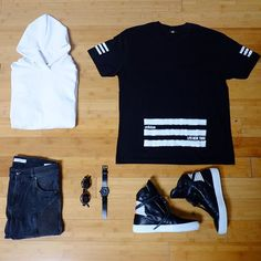 New Week New Gear Urban Outfits, Cool Outfits, Fashion Outfits, Hype Clothing, Latest Mens Fashion, Outfit Combinations, Sneakers Fashion, What To Wear, Street Wear