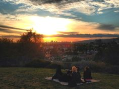 Watch a spectacular sunset from the hilltop knoll at Barnsdall Art Park in Los Feliz, where you can see an unbeatable span of the Los Angeles skyline. Los Angeles Skyline, Fundraising Events, Story Inspiration, Wine Tasting, Screen Shot, Places To Go, Scenery, Sunset, Park