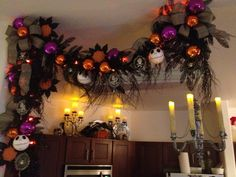 """Wreck the Halls""  Halloween Decor 2012 Design by Christian Rebollo"
