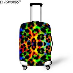 Elastic Travel Luggage Cover Best Summer Holidays Enjoy Suitcase Protector for 18-20 Inch Luggage