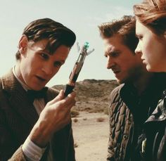 Eleven, Amy & Rory