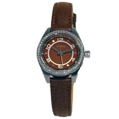 Fossil #BQ1085 Women's Analog Watch Brown Leather Band Crystals http://lyumax.com/category/fossil/catId=4046238  #Fossil #fossilwatch #wristwatch #ladies #ladieswatch #ladieswatches #gift #forher #analog #accessories #women #green #silver #mop #greenwatch #roundwatch #steel #stainlesssteel #prettywatch #watchaddict #watchlovers #crystals #sparklewatch #classicwatch #classicwatches