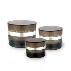 J20 Oval Acrylic Jars