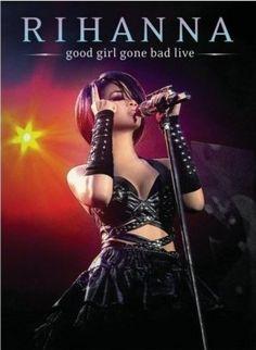 En el año 2008 Rihanna preparó una gira por Estados Unidos y Europa llamada Good Girl Gone Bad Live como resultado del éxito de su álbum homónimo. El DVD está grabado en Manchester y para mi gusto es un concierto prematuro y sólo para los ultrafans de la cantante barbadense ya que aún no tiene la madurez vocal, coreográfica y escénica que hoy la posiciona como una de las grandes de la industria pop internacional.   Aquí uno de los mejores momentos del concierto:   http://youtu.be/4wx-wV5X0Fk