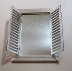 Perfect Dekorativer Spiegel versilbert