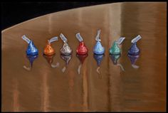 """""""Seven Kisses"""" 2007 by Kent Christensen. Oil on linen, 12 x 18 in/ 31 x Original Art For Sale, Original Artwork, New Gods, Oil Painting For Sale, Candyland, Fine Art Gallery, Beautiful Paintings, Prints For Sale, Backdrops"""