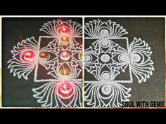 How to learn Latest Sanskar Bharti Rangoli Design Lotus rangoli Square Rangoli by soul with genie Sanskar Bharti Rangoli Designs, Lotus Rangoli, Painting Videos, Tutorials, Make It Yourself, Learning, Youtube, Studying, Teaching
