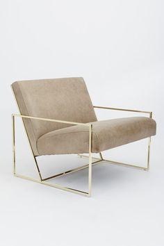 Lawson Fenning Thin Frame Lounge Chair