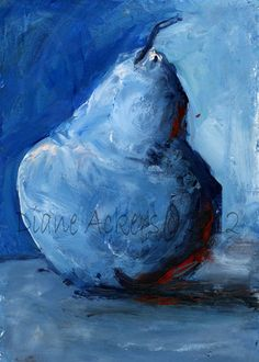 pear painting by Diane Ackers