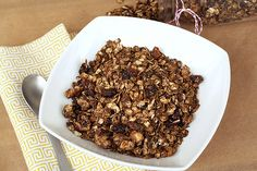 Gingerbread Granola by Tasty Yummies