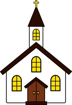 pin by muse printables on printable patterns at patternuniverse com rh pinterest com free clipart church building church building clipart black and white
