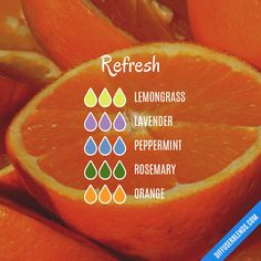 Refresh — Essential Oil Diffuser Blend