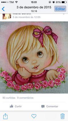 Pintura em tecido | bonecas | rosto