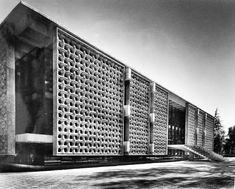 Universidad Autónoma de Cahapingo 1964 Chapingo, Edo. de México. México Arq. Augusto Álvarez