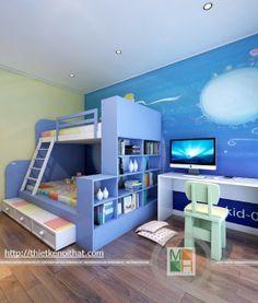 Kids Bedroom, Loft, Furniture, Home Decor, Homemade Home Decor, Lofts, Home Furnishings, Decoration Home, Arredamento