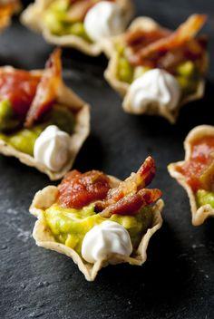 Bacon Guacamole appetizer