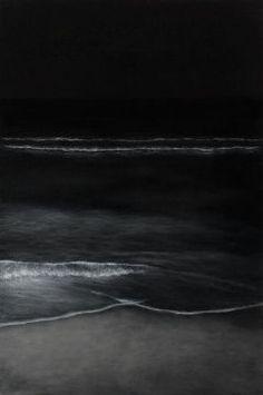 night waves- love listening to the ocean Beautiful World, Beautiful Places, Ligne D Horizon, No Wave, Sea And Ocean, Black Ocean, Landscape Designs, Ocean Waves, Ocean Gif