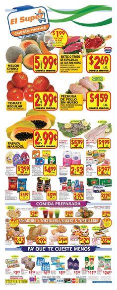 El Super Weekly Ad October 5 - 11, 2016 - http://www.olcatalog.com/grocery/el-super-weekly-ad.html