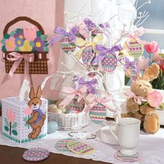 Easter Ensemble Plastic Canvas Patterns