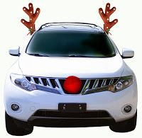 Christmas Car Decorations.Pinterest