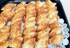 event catering and everyday gourmet foods Delicious Catering, Surf And Turf, Hors D'oeuvres, Wedding Catering, Empanadas, Gourmet Recipes, Great Recipes, Bacon, Tray