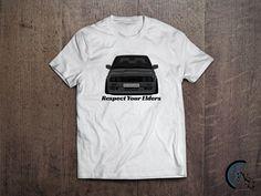 Respect Your Elders BMW E30 T-Shirt