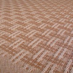 Organic Basketweave - Towels - Studio Tupla Interesting basketweave design