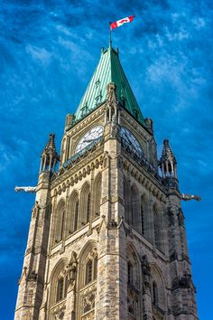 Peace Tower - Building complex in Ottawa, Ontario.