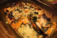 Madlaboratoriet: Butternut squash-lasagne med gorgonzolasauce