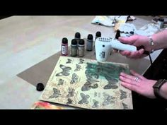 Ranger's Creative Director Tim Holtz introduces Distress Stain and shares some tips and techniques for getting the most out of this versatile product!