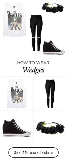 """outfit"" by peace-girl23 on Polyvore featuring moda, Converse, Wet Seal, women's clothing, women, female, woman, misses y juniors"