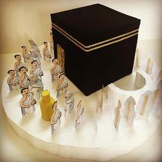 Image may contain: 1 person Eid Crafts, Ramadan Crafts, Projects For Kids, Diy For Kids, Crafts For Kids, Ramadan Activities, Activities For Kids, Eid Card Designs, Eid Mubark