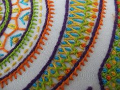 SMockerySmArt's TASTy Bits - experiments with embroidery stitches