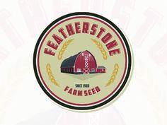 Featherstone Farm Seed #1 Portfolio Logo, Seeds
