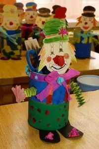 can clown craft | Crafts and Worksheets for Preschool,Toddler and Kindergarten