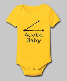 Only the best for the brightest! This hilariously embellished bodysuit is perfect for little brainiacs-in-training and features smart details like a stretchy lap-neck and handy snaps for easy changing.100% cottonMachine wash; tumble dryImported
