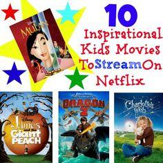 10 Inspirational Kids Movies To Stream On Netflix #StreamTeam