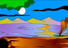El tronco y la luna