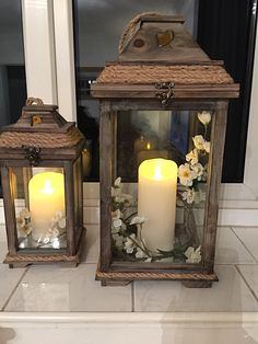 All Details You Need to Know About Home Decoration - Modern Lantern Centerpieces, Lanterns Decor, Candle Lanterns, Living Room Nook, Living Room Decor, Lanterns With Flowers, Stair Decor, Farmhouse Decor, Decoration