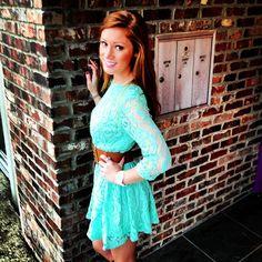 Tiffany blue lace dress Repin & Follow my pins for a FOLLOWBACK!